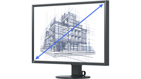 Monitors for simulation, from 27 inches